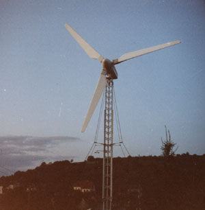 Photographie de la seconde éolienne.